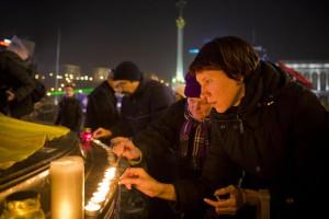В Украине появилась первая улица Героев Небесной сотни