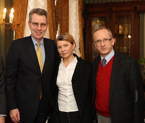 Юлия Тимошенко встретилась с послами США и ЕС