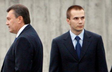 Янукович находится в Ростове, его сын - в Барвихе - начальник УГО