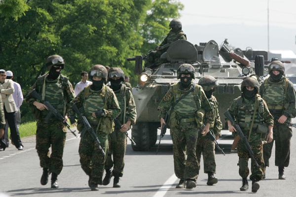 Российский спецназ применяет силу и угрожает - Госпогранслужба