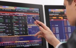 На Московской бирже грандиозный спад акций