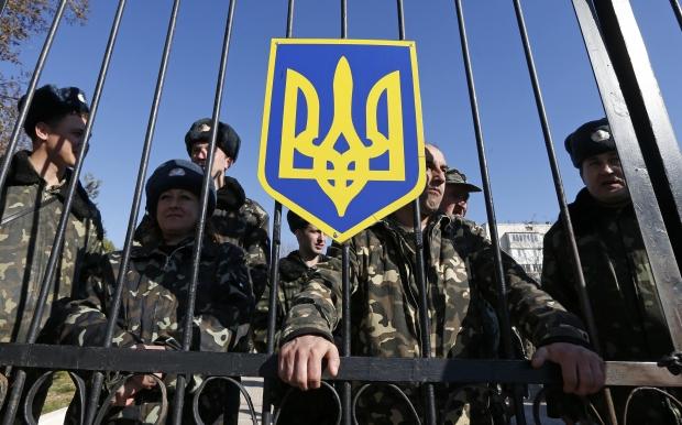 В Бахчисарае захватили украинский автомобильный батальон