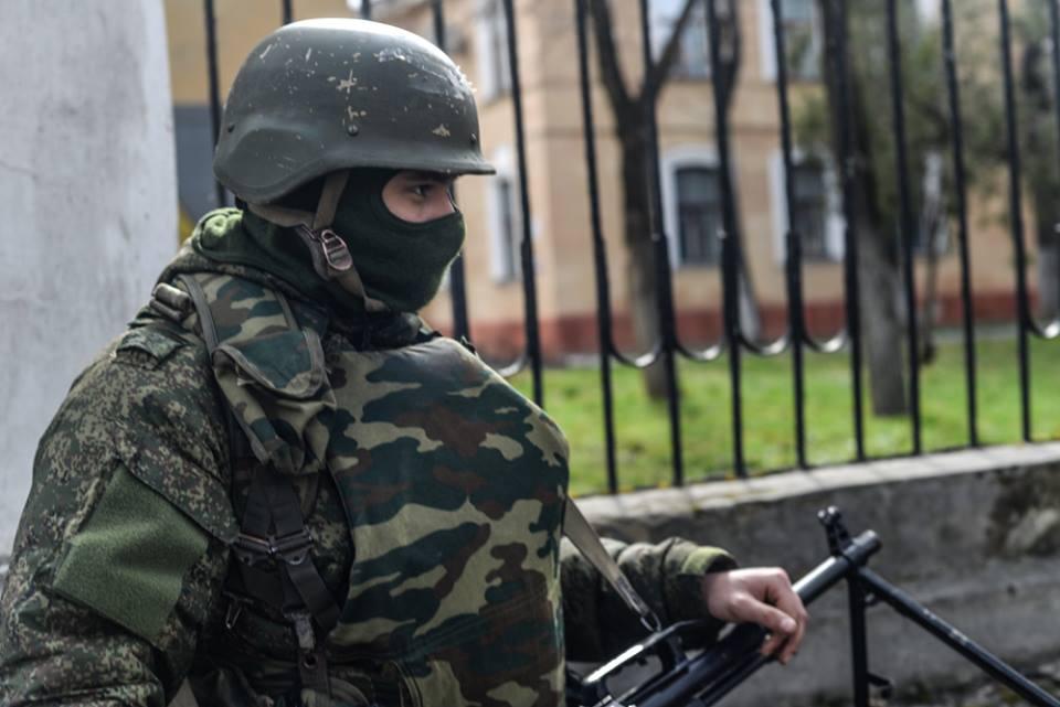 Военные РФ заблокировали 40 объектов в Крыму