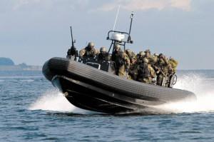 В Севастополе обнаружили подводных диверсантов