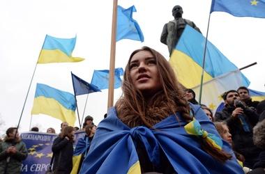 В Киеве митингуют против введения российских войск