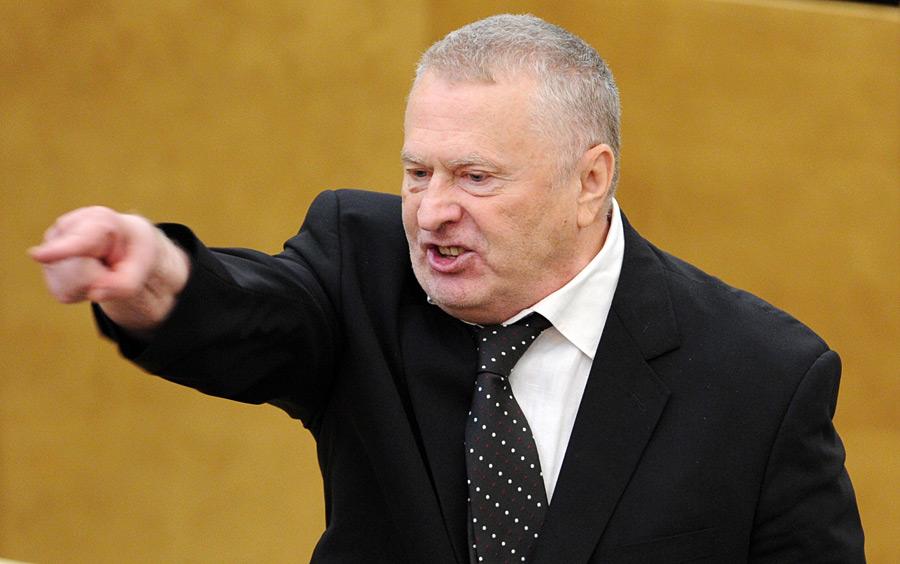 Жириновский предлагает захватить  Украину за сутки