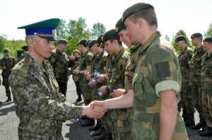 Пограничники задержали российского военного, который направлялся в Крым