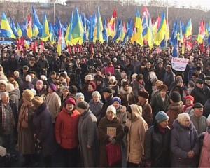 Тысячи одесситов вышли на митинг против действий России
