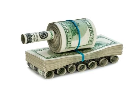 В армии подсчитали размер полученной помощи