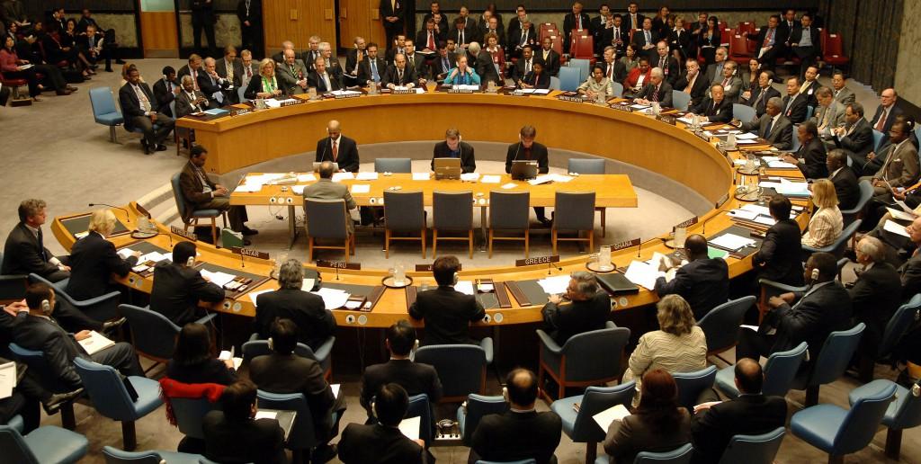 Заседание ООН по Украине