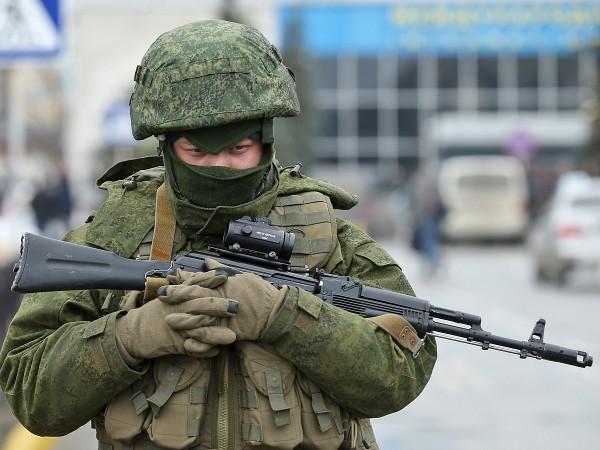 Российский спецназ заминировал выезд украинским военным