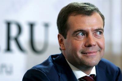 В Крым прибыл Дмитрий Медведев