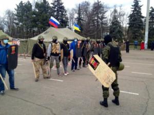 В Одессе прошел пророссийский марш