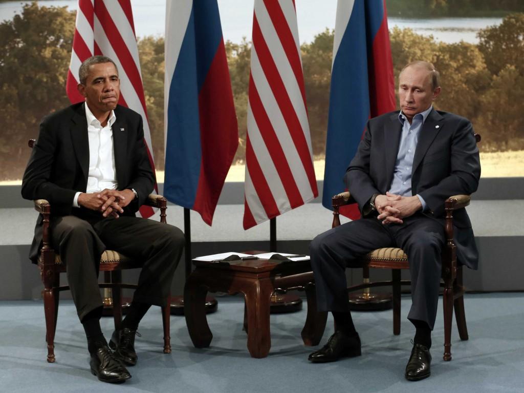 Путин: Санкции наносят урон российско-американским отношениям