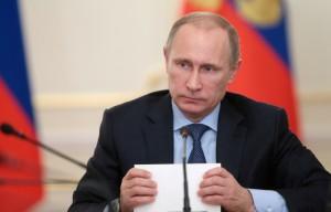 В Крыму начали продавать портреты Путина