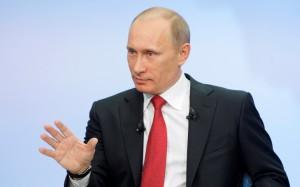 Язык тела Путина