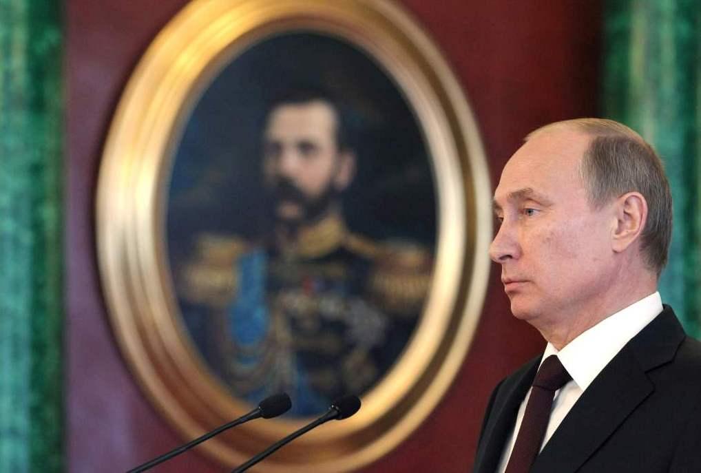 Мания величия Путина