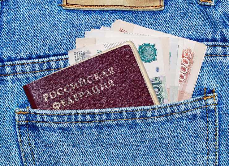 На границе задержали русского