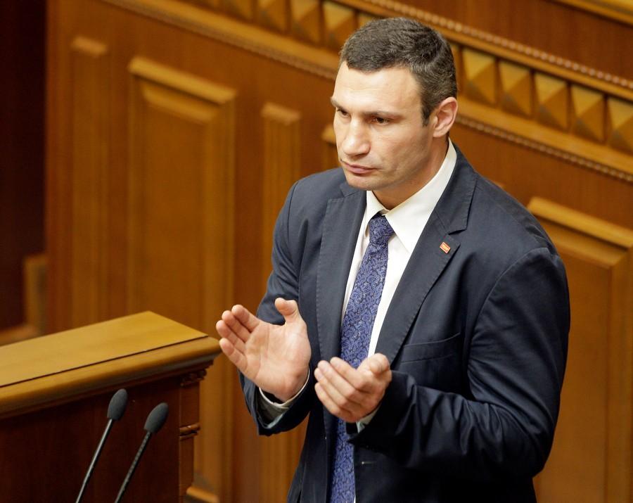 Крымский парламент будет распущен - Кличко