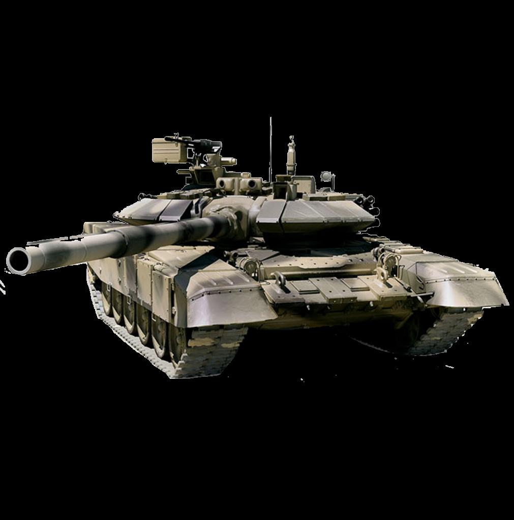 В Краматорск прибыли танки с российскими флагами