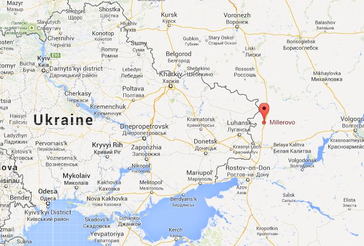Российские танки - в 35 км от Луганской области
