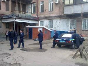 Милиция  обыскивает офис харьковской Боротьбы (ФОТО)