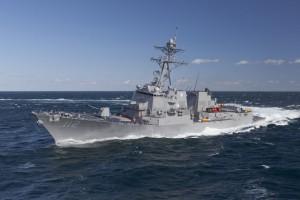 В Черное море вошел эсминец США и фрегат Франции