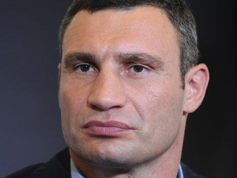 Кличко подал документы для регистрации в меры Киева