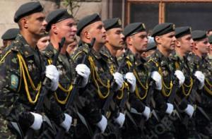 Национальная гвардия едет в Славянск