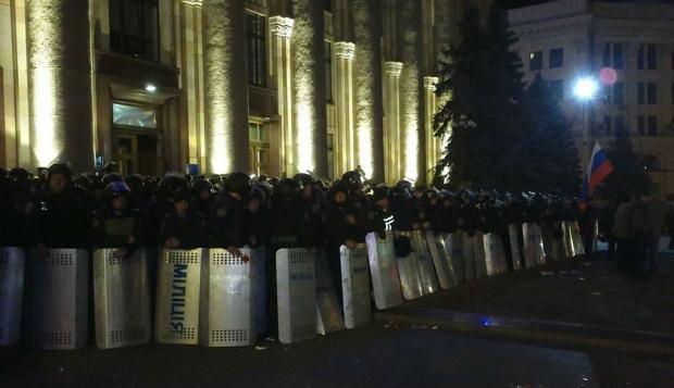 В Харькове пострадали два сторонника целостности Украины