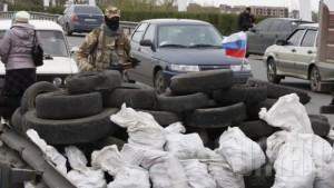 В Славянске погиб один правоохранитель