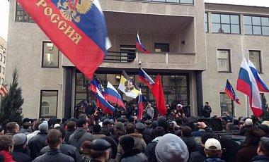 Пророссийские активисты подрались со сторонниками единой Украины