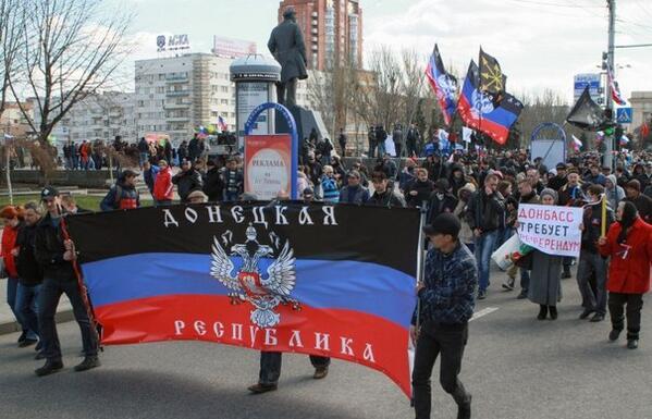 В Донецке идет штурм прокуратуры