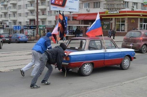 В Донецке задержали сепаратистов-участников столкновений