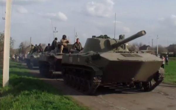 Россия перебрасывает свои войска в Крым