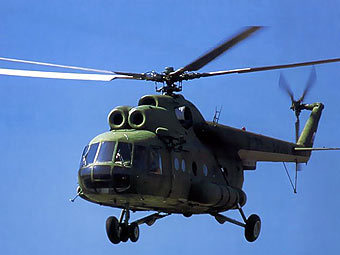 В Славянске обстреляли вертолеты Нацгвардии