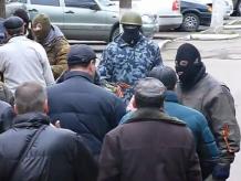 В Донецкой области захватили еще один горотдел милиции