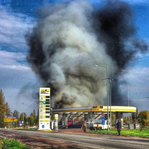 На АЗС бывшего министра Ставицкого произошел взрыв, погибли четверо людей