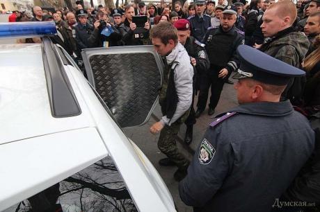 В Одессе задержали сепаратистов