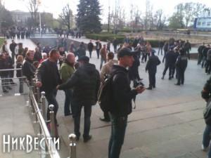 В Николаеве планируется штурм ОГА