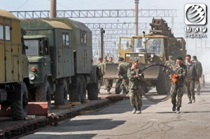 Из Крыма вывозят украинскую военную технику