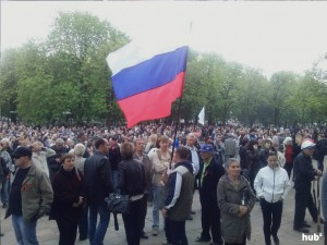 Сепаратисты штурмовали  отделение милиции в Ровеньках