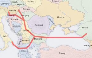 Болгария демонтировала трубы