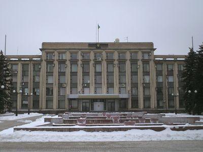 Донецкий горсовет захватили неизвестные