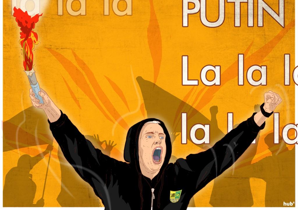 Футбольные ультрас - против власти и Путина