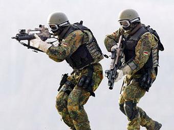 Германия может применить свой спецназ в Славянске - Bild