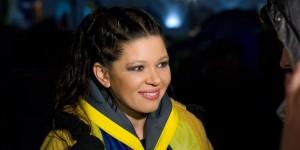 Руслана: В Харькове митинг за единство Украины забросали гранатами