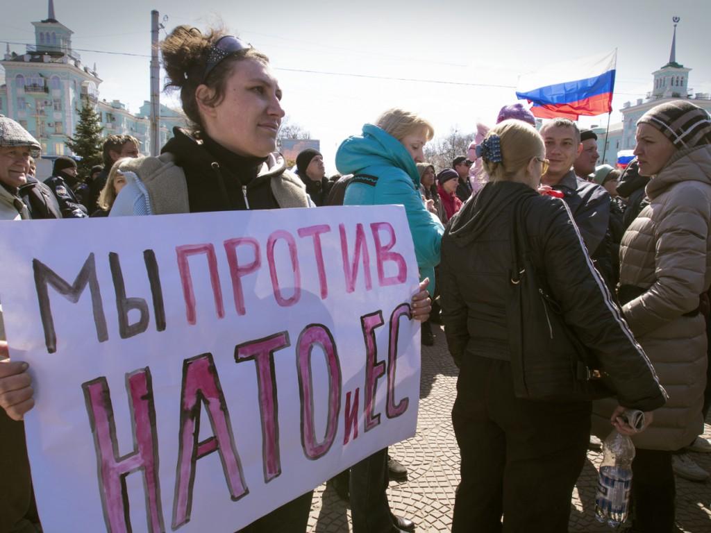 Лица луганских сепаратистов