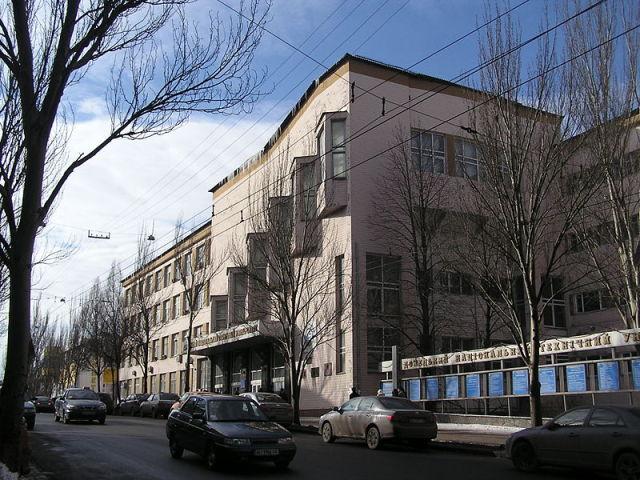 В Донецке боевики разграбили университет