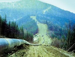 На международном газопроводе в Карпатах произошло три взрыва